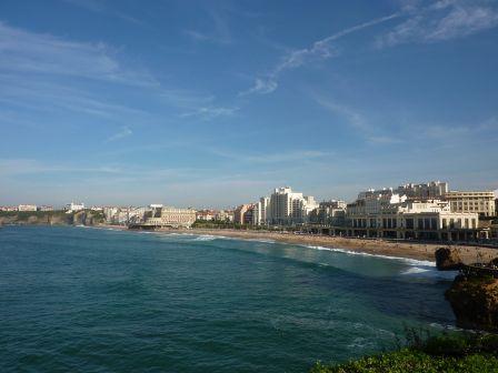 La grand plade de Biarritz